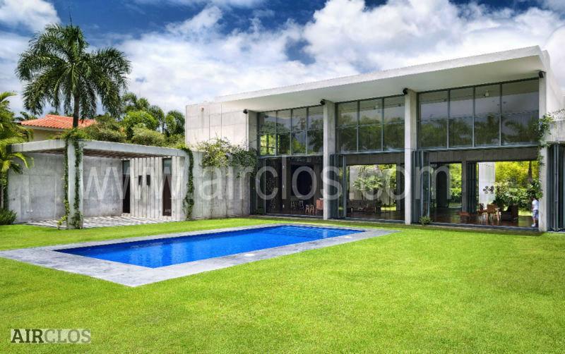 Falten glasw nde t r produkt id 50016606502 for Folding glass walls