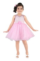 Littleopia Baby Pink Partywear Frock