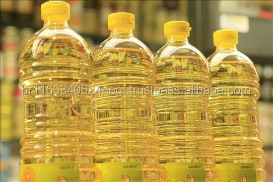 100% Pure Refined Vegetable Oil and Sunflower Oil