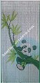 The entire range of unique bamboo beaded door curtain cheap room divider panda