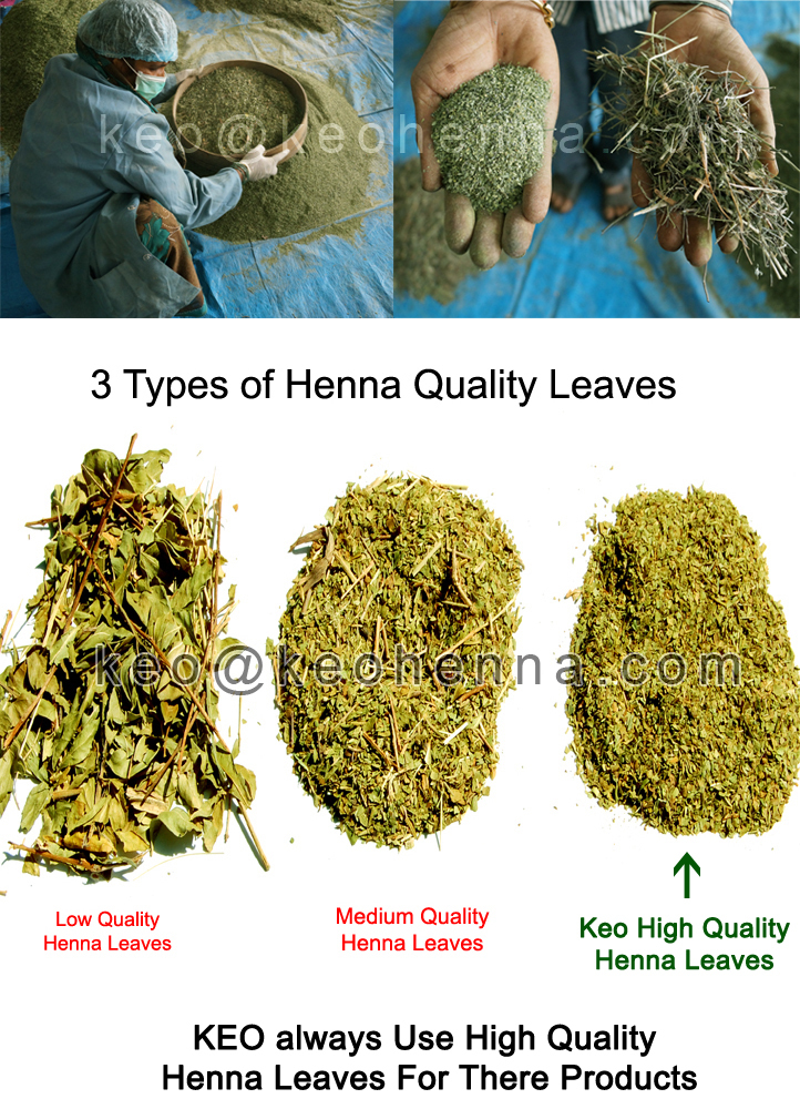 Henna Leaves Quality