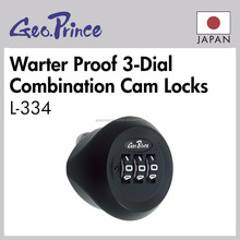 High quality and Water Proof combination cam lock for staff lockers with heat-resistant
