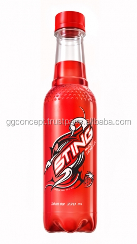 Sting Energy Drink Strawberry 330ml / Soft Drink