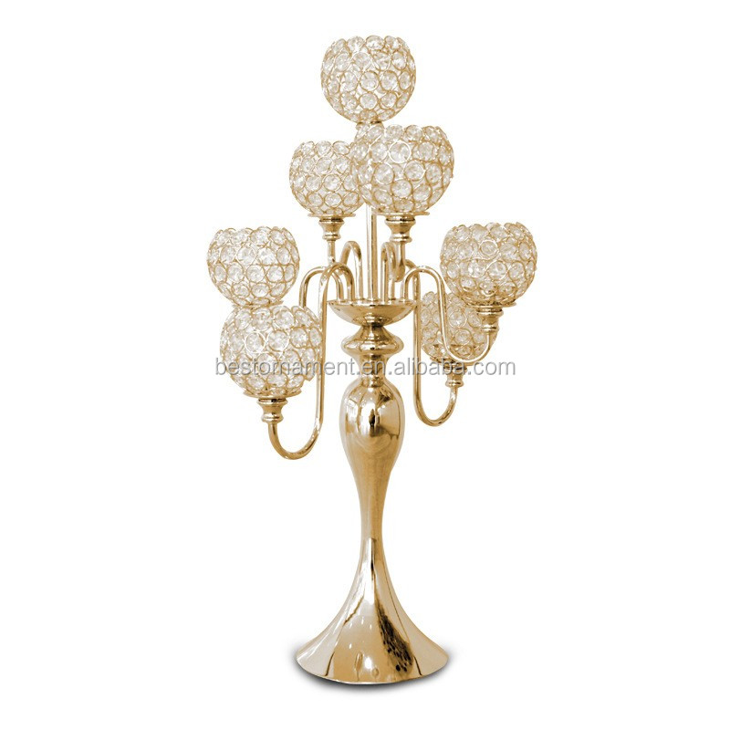Wholesale wedding hot sale irregular type crystal