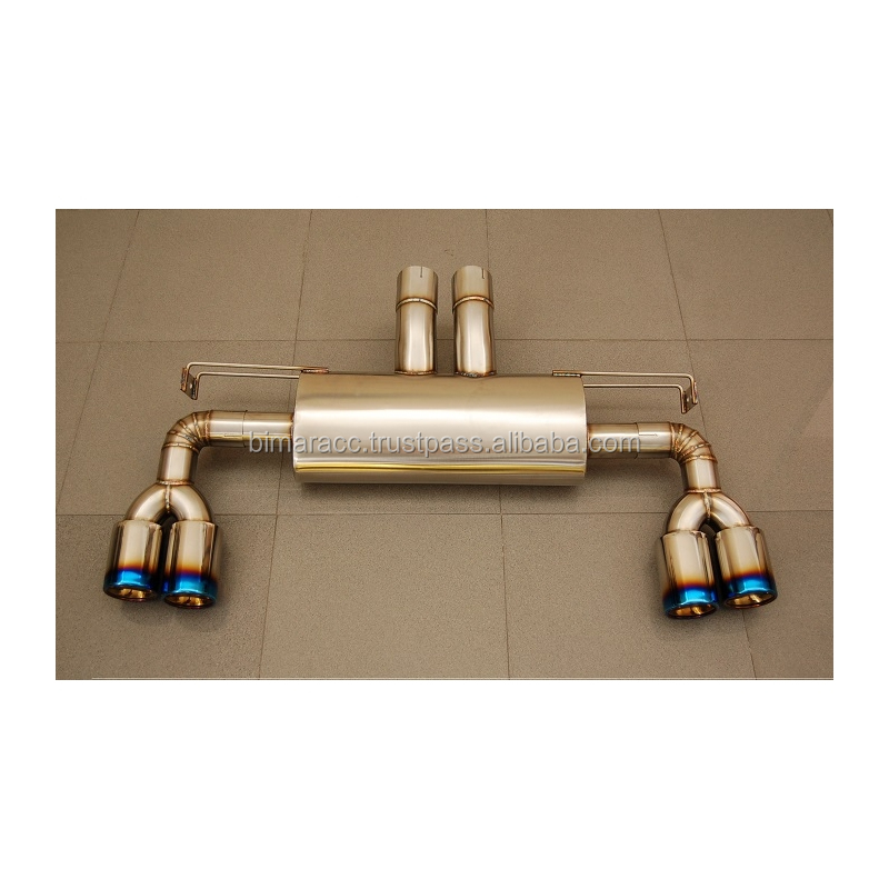 Exhaust for bmw E71