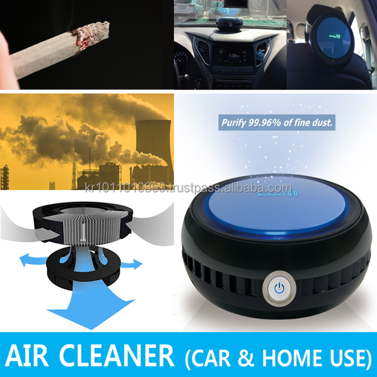 Car Air Cleaner - Micro Dust & Yellow Dust - from Korea