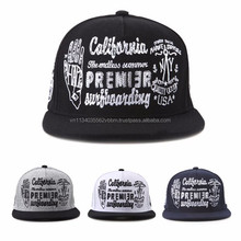 [P443-P446] hand DRAWING many logo embroidered caps on all 5 panel snapback cap