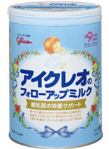 glico icreo follow-upmilk milk powder baby food made in japan