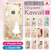 A wide variety of colorful clear cases for iPhone 6 mobile phone