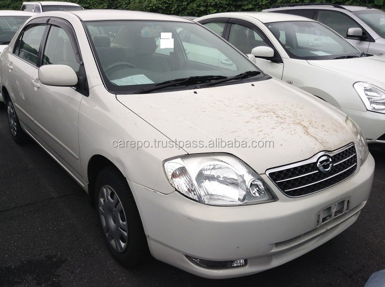 SECONDHAND AUTOMOBILES FOR TOYOTA COROLLA 4D G NZE121 FOR SALE IN JAPAN