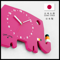 Pretty and Hot-selling wooden wall clock with characters from Popular Picture book for kids, made in Japan