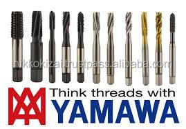 High precision made in japan cutting tools for taps for YAMAWA for thread in mold for electric motor for scooter on alibaba usa