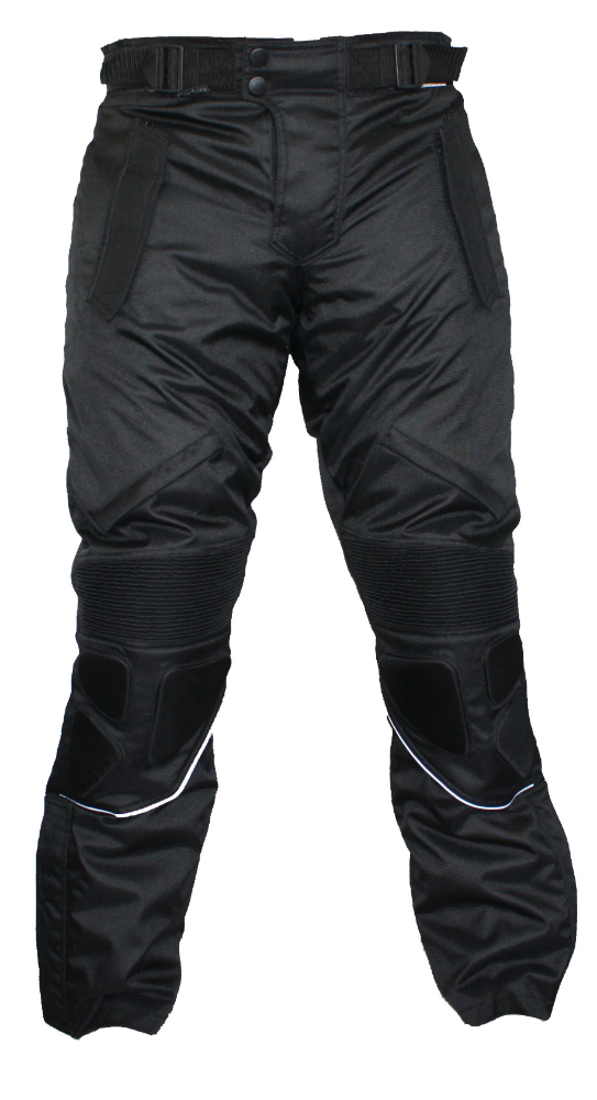 Men's Textile Motorcycle Pants, Waterproof, Protectors