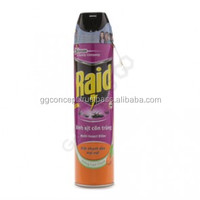 Raid Multi Insect Killer (Lemon Orange) 300ml /insect killer, aerosol insecticide, spray pesticide