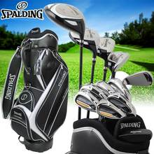 Spalding tour progrind NP-01 mens golf clubs complete set with caddie bag