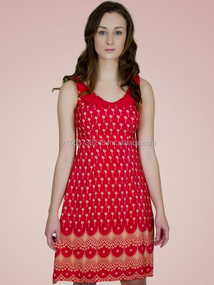 SILK CREPE CORAL PRINTED SHEATH DRESS