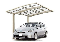 Reliable aluminium carport polycarbonate canopy roof by LIXIL