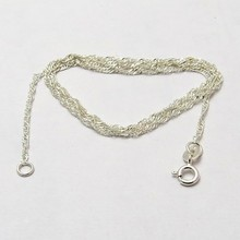 Rolo Chain Curb !! Plain Silver Springring Lock 925 Sterling Silver Chain, Wholesale Silver Jewelry, Silver Jewellery
