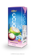 100% Natural Mangosteen Flavor Coconut Water