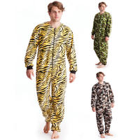 100% cotton long sleeve mens knitted pajamas set