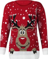 CHRISTMAS SWEATER: MEN'S LONG SLEEVE HEAVY KNITTED CHRISTMAS PULLOVER SWEATERS