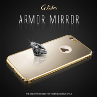 00249 For iPhone 6/6S/6S Plus/5/5S/SE_G.Lider Amor Mirror_Smart Cellular Mobile Phone Case Cover Case