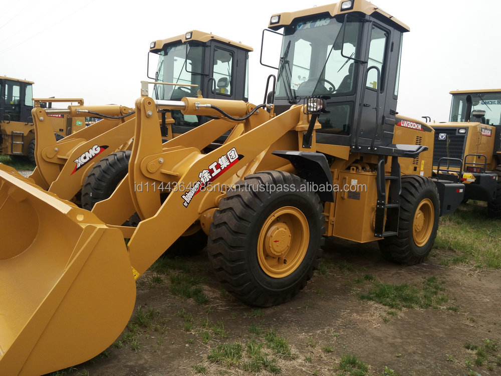 XCMG Slide loader XT740 tcm 806 wheel loader for sale High quality sales