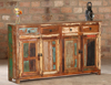 Reclaimed Recycled Wooden Furniture / Kitchen Wooden Cabinet