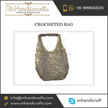 Top Quality Tested Material Made Hand Crochet Bag