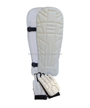 PRO WOO, Cricket Batting Pad & Gloves Set