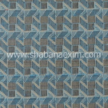 Hand loom Jacquard fabric for garments woven Cotton fabrics