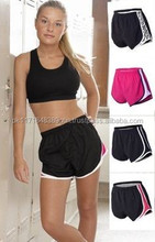 Custom Wholesale Womens Athletic Training Gym Shorts/Sports Running Womens shorts