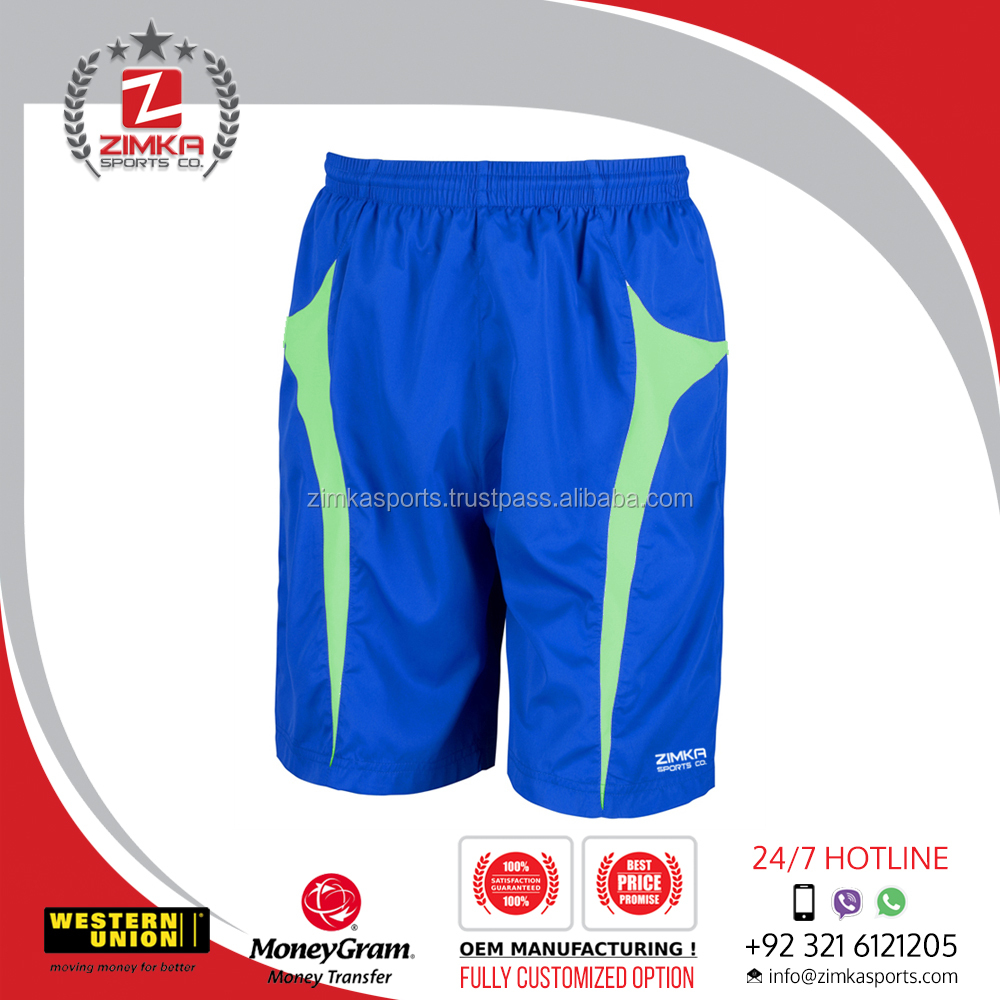 OEM/ODM summer Plus Size 65% cotton 35% polyester blank board shorts gym Basketball men