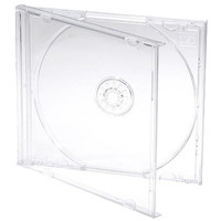 Crystal high quality cases for CD & DVD wholesale