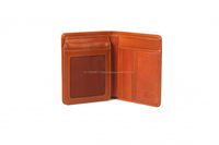 Protecting Data Genuine Leather RFID Blocking Wallet forMen