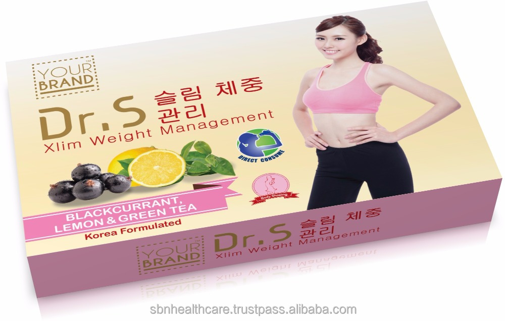 Slimming and Weight Management for Body Shaping with Korean Formulated