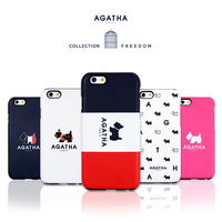 11080 For Galaxy S7 S6 Edge S6 S5 S4 Note4 Note3 Cute Agatha Silicon Bumper Soft Smart Cellular Mobile Phone Case Cover Casing