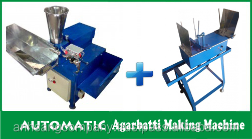 New Fully Automatic Agarbatti/Incense Stick Making Machine - Best Price