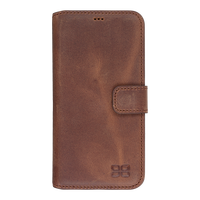Leather case for S7