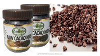 100% Natural RAW CACAO NIBS, Non Alkalized & Very Low in Acidity
