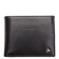 Excellent Travel Bifold Credit Card Protector RFID BlockingWallet Stylish Genuine Leather Wallet for Men