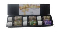 2016 Private Label Low MOQ Certified 100% Pure Organic Essential Oil Gift Set from India