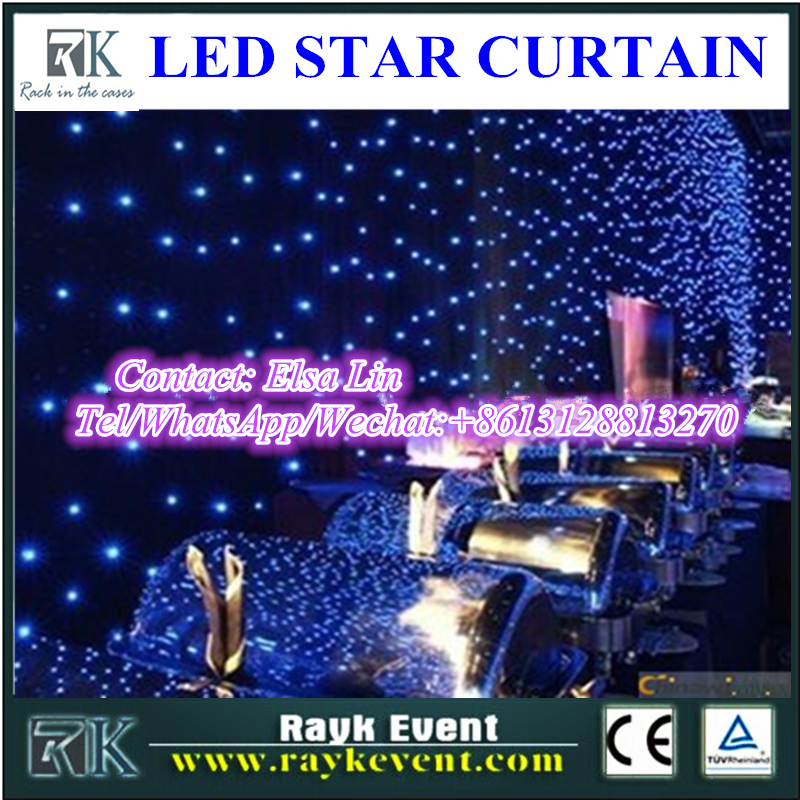 led travel sales case led twinkling stars led curtain lights led star cloth led star curtain