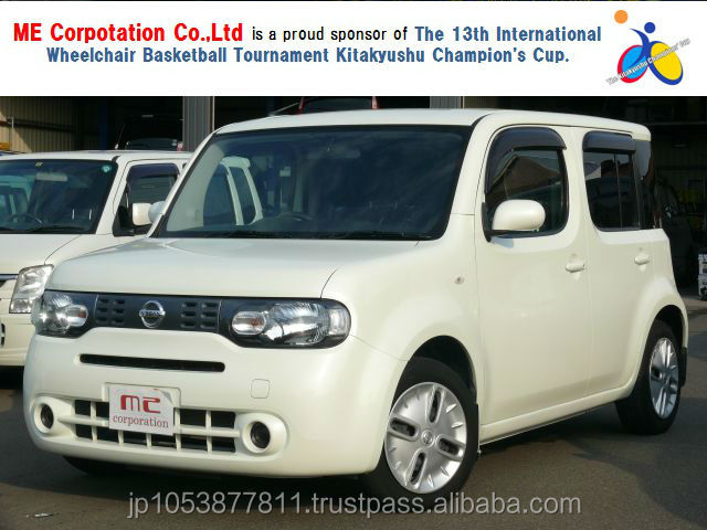 Popular and Reasonable nissan cube japan with Good Condition CUBE 15X 2011 used car