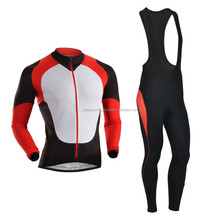 Sublimated Cycling Jersey And Bib Tides, Biker Wears