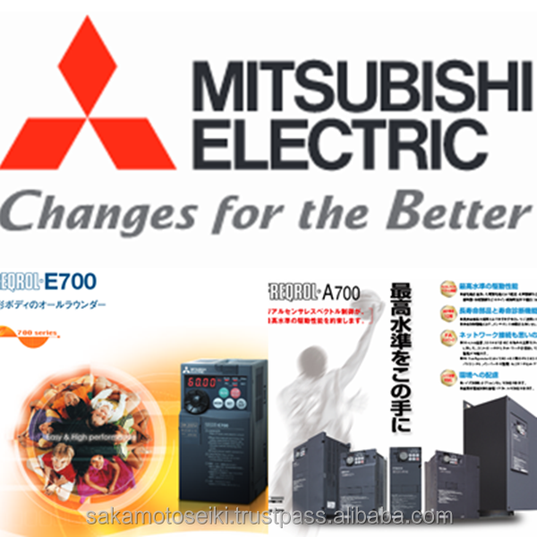 ENERGY SAVING and Durable electronic inverter components MITSUBISHI INVERTER at reasonable prices to provide from JAPAN