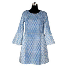 Hand Block Printed Tunic Kurtis / 100% Cotton Tunic / Design Pattern Kurtis