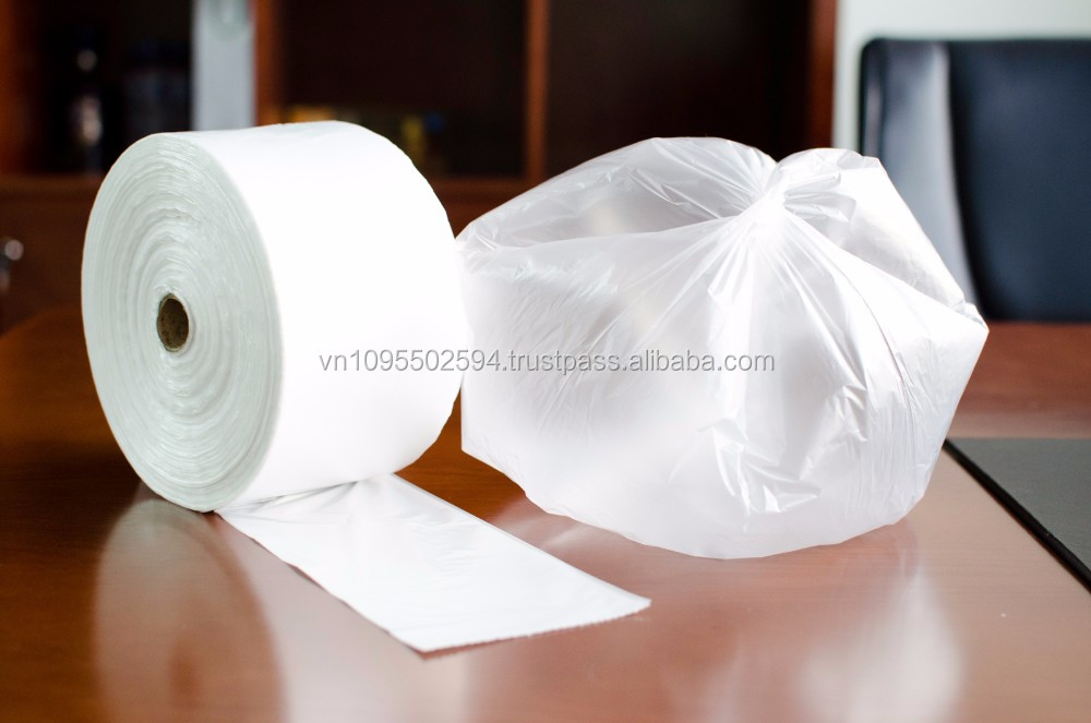 50 LITER BIN LINER, STAR SEAL, FLAT, SEMI TRANSPARENT FILM, WITHOUT PRINTING