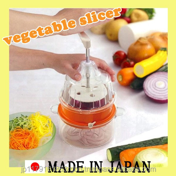 Best-selling and Cost-effective vegetable slicer with multiple functions made in Japan