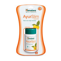 Ayurslim Capsules Weight Management - Helps Lose Weight Naturally - 60 Capsules/Bottle